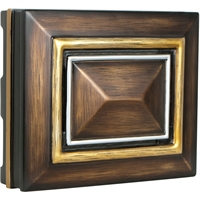 Picture for category Craftmade CH1202-DO Outdoor Accessory Dark Oak with Gold and Siler  Signature