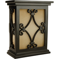 Picture for category Craftmade CH1515-BK Outdoor Accessory Black  Scroll