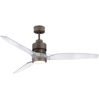 Picture for category Craftmade SON52ESP-52CA Indoor Ceiling Fans Espresso Acrylic, Silicon Steel Sonnet