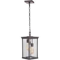 Picture for category Craftmade Z9721-OBO Outdoor Pendant Oiled Bronze Aluminum Riiera III