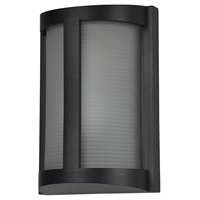 "Picture for category Wall Sconces 1 Light Fixtures With Black Finish Aluminum Material Smart 7"" 20 Watts"