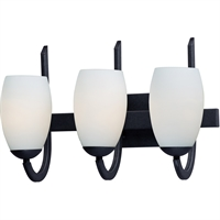 Picture for category RLA Maxim RL-383826 Bath Lighting Textured Black Steel and Glass Taylor