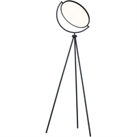 Picture for category RLA ET2 RL-387934 Floor Lamps Black Aluminum and Acrylic Paddle