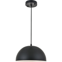 Picture for category Living District LD4022D12BK Pendants Black  Forte