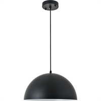 Picture for category Living District LD4023D14BK Pendants Black  Forte