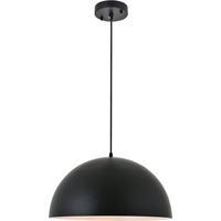Picture for category Living District LD4025D16BK Pendants Black  Forte