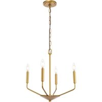 Picture for category Living District LD8025D18BR Pendants Brass  Enzo