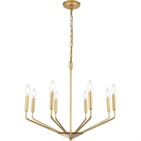 Picture for category Living District LD8031D25BR Pendants Brass  Enzo
