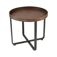 Picture for category Sterling Industries 351-10546 Tables Rust With Dark Bronze Metal Copperhead