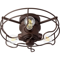 Picture for category Quorum Lighting 1905-86 Fan Light Kits Oiled Bronze  Windmill