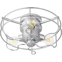 Picture for category Quorum Lighting 1905-9 Fan Light Kits Galvanized  Windmill