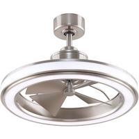 Picture for category Fanimation Fans FP8404BN Indoor Ceiling Fans Brushed Nickel  Gleam