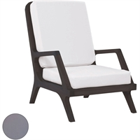 Picture for category Guild Master 2317013S-GO Furniture Grey Fabric/Foam Teak