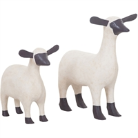Picture for category Guild Master 2516527S Decor Handpainted Albasia Wood Sheep