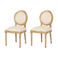 Picture for category Guild Master 7011-408P Chairs Classic Artisan Stain Wood/Fabric Allcott