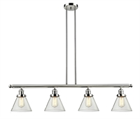 Picture for category World of Lifestyle WLS395469 Island Lighting Polished Nickel Cast Brass, Glass Buttercup