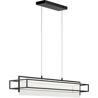Picture for category Elan Lighting 84051 Island Lighting Matte Black Steel Vega