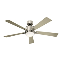 Picture for category Kichler Lighting 330000PN Indoor Ceiling Fans Polished Nickel Steel Lucian