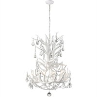 Picture for category Dimond Lighting D4122SET Chandeliers White Composite/Crystal Big Sky