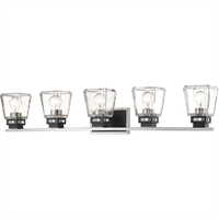 Picture for category World of Style WOS398460 Bath Lighting Brushed Nickel and Matte Black Steel Yed Prior