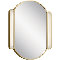 Picture for category RLA Elan RL-400168 Mirrors Champagne Gold Steel Riverside