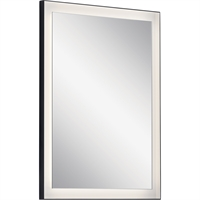 Picture for category RLA Elan RL-400170 Mirrors Matte Black Steel Kid City
