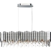 Picture for category Maxim Lighting 40308BCPC Island Lighting Polished Chrome Crystal/ Stainless Steel Paramount