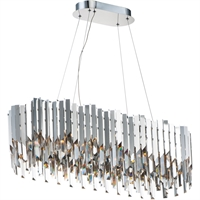 Picture for category Maxim Lighting 40309BCPC Island Lighting Polished Chrome Crystal/ Stainless Steel Paramount