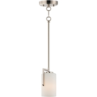 Picture for category Maxim Lighting 91280SWSN Pendants Satin Nickel Steel/Glass Dart