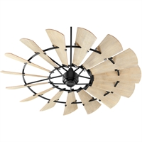 Picture for category Quorum Lighting 97215-69 Indoor Ceiling Fans Noir  Windmill