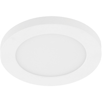 Picture for category Eglo Lighting 203674A Flush Mounts White Plastic/Acrylic Trago 5