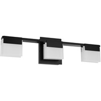Picture for category Eglo Lighting 203963A Bath Lighting Matte Black Steel/Glass Vente