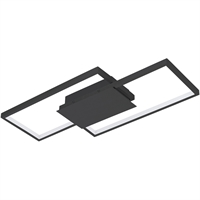 Picture for category Eglo Lighting 204052A Flush Mounts  Aluminum/Steel Milanius