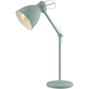 Picture of Eglo Lighting 49097A Desk Lamps Pastel Light Green Steel Priddy