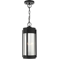 Picture for category Livex 22385-04 Outdoor Pendant Black with Brushed Nickel Candles Stainless Steel Sheridan