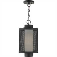 Picture for category RLA Livex RL-408087 Outdoor Pendant Textured Black Stainless Steel Nottingham