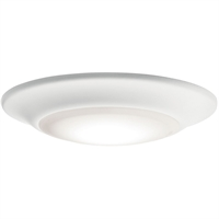 Picture for category Kichler Lighting 43878WHLED27 Recessed Lighting White Plastic Downlight Gen I