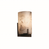 Picture for category Justice Design ALR-5531-DBRZ Wall Sconces Dark Bronze Metal Alabaster Rocks!™