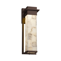 Picture for category Justice Design ALR-7544W-DBRZ Wall Sconces Dark Bronze Metal Alabaster Rocks!™