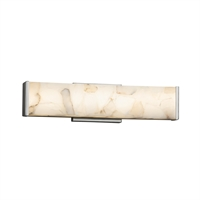 Picture for category Justice Design ALR-8601-NCKL Bath Lighting Brushed Nickel Metal Alabaster Rocks!™