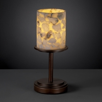 Picture for category Justice Design ALR-8798-10-DBRZ Table Lamps Dark Bronze Metal Alabaster Rocks!™
