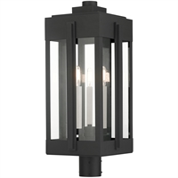Picture for category RLA Livex RL-465013 Outdoor Post Light Black Solid Brass Lexington