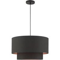 Picture for category RLA Livex RL-465063 Pendants Black Steel Sentosa