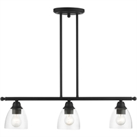 Picture for category RLA Livex RL-465145 Island Lighting Black Steel Montgomery
