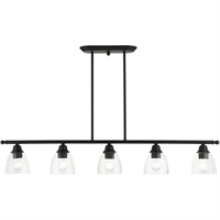 Picture for category RLA Livex RL-465147 Island Lighting Black Steel Montgomery