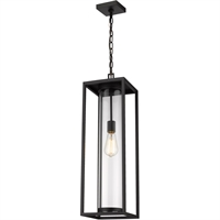 Picture for category World of Style WOS419590 Outdoor Wall Sconces Black Aluminum Restaban