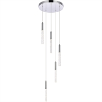 Picture for category Elegant Lighting 5203D16C Pendants Chrome Metal,Aluminum,Crystal Ruelle