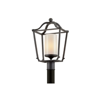 Picture for category Troy Lighting P6855 Outdoor Post Light French Iron Hand-Worked Iron / Glass Princeton